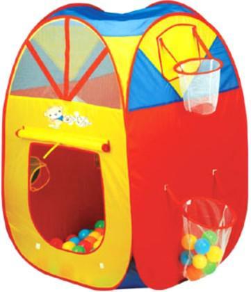 Игровая палатка Shantou Gepai с кольцом и корзиной, сумка 889-72B цена