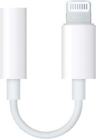 Переходник Lightning - 3.5 mm jack Apple белый MMX62ZM/A