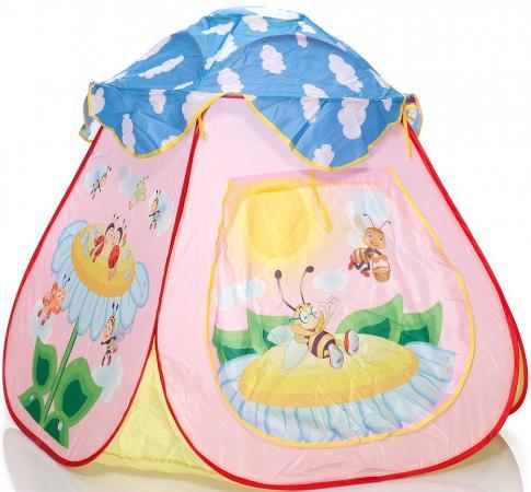Игровая палатка Shantou Gepai Пчелкин домик сумка 889-127B палатка игровая shantou gepai шатер принцессы 833 17
