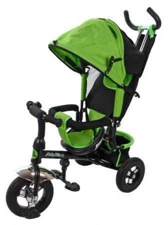 Велосипед трехколёсный Moby Kids Comfort-2 10/8 зеленый  635202 велосипед moby kids comfort 2 12 10 голубой трехколёсный