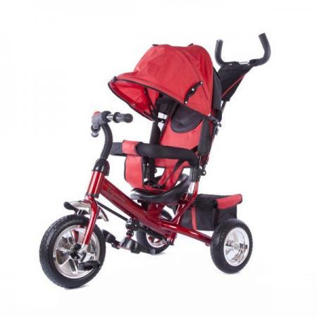 Велосипед трехколёсный Hebei Спутник 635205 10/8 красный велосипед r toys galaxy лучик vivat 10 8 красный трехколёсный