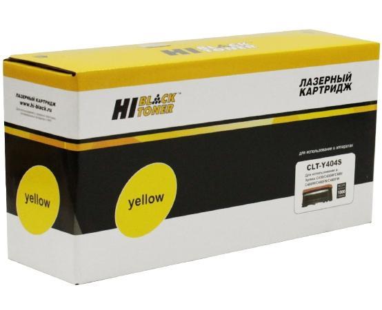 Картридж Hi-Black CLT-Y404S для Samsung Xpress SL-C430/C430W/C480/C480W/C480FW желтый 1000стр powder for samsung xpress sl m2825dw mfp sl m 2675fn slm 2825dw mfp proxpress sl 2835mfpdrum cartridge refill powder