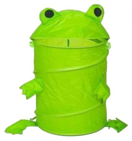 Корзина Shantou Gepai Лягушонок без колёс зеленый нейлон J-3 ящики для игрушек shantou gepai корзина зайка 36х48 см