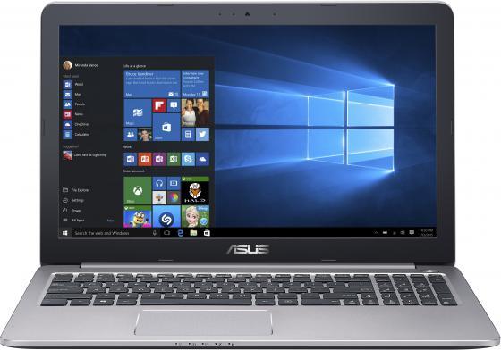 Ноутбук ASUS K501UX-DM771T 15.6 1920x1080 Intel Core i7-6500U 1Tb 6Gb nVidia GeForce GTX 950M 4096 Мб серый Windows 10 Home 90NB0A62-M04420 ноутбук asus k501lb 15 6 intel core i5 5200u 1tb 6gb dos nvidia gf940 2gb black