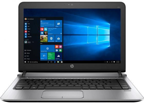 Ноутбук HP ProBook 430 G3 13.3 1366x768 Intel Core i5-6200U 500 Gb 4Gb Intel HD Graphics 520 черный Windows 7 Professional + Windows 10 Professional W4N84EA abs chrome front head light eyelid cover trim for jeep grand cherokee 2014 2015