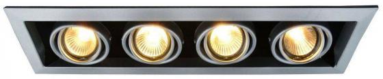 Встраиваемый светильник Arte Lamp Cardani A5941PL-4SI встраиваемый светильник arte lamp cardani a5930pl 4si