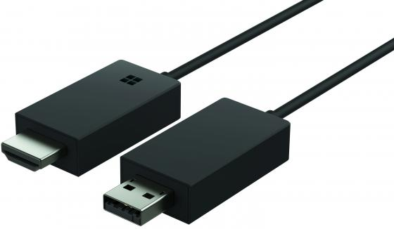 Беспроводной видеоадаптер Microsoft Wireless Display Adapter 2 USB-HDMI P3Q-00022 ts 02 full hd 1080p ezcast miracast wi fi display dongle w dlna miracast airplay golden