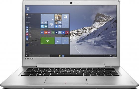 Ноутбук Lenovo IdeaPad 510S-14ISK 14 1920x1080 Intel Core i7-6500U 256 Gb 8Gb Intel HD Graphics 520 серебристый Windows 10 Professional 80TK0069RK