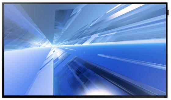 Телевизор LED 55 Samsung DM55E черный 1920x1080 60 Гц Wi-Fi VGA DisplayPort телевизор samsung qe55q8cnauxru 55