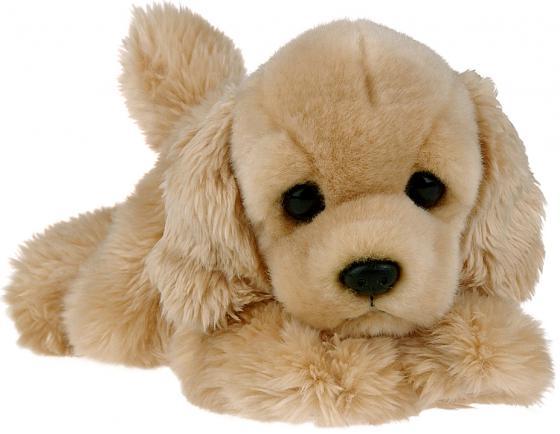 Мягкая игрушка щенок AURORA Бордер Кокер-спаниель 22 см бежевый искусственный мех кокер спаниель отдам в дар