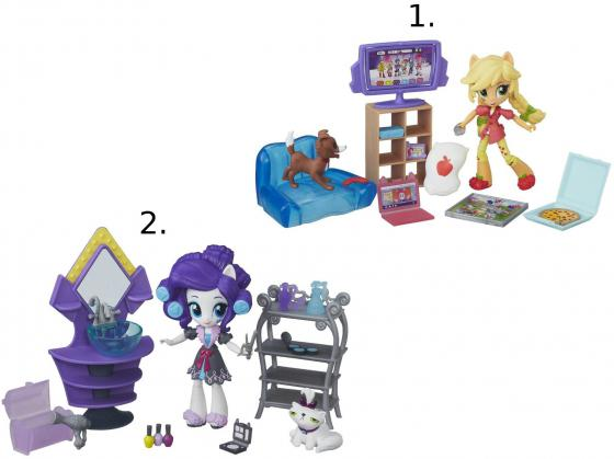 Игрушка Hasbro My Little Pony Equestria Girls мини-куклы в ассортименте B4910 dhl in stock lepin 15008 2462pcs green grocer city street model building blocks bricks compatible legoinglys 10185 toys gifts