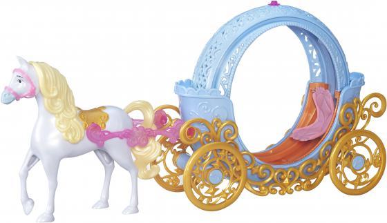 Игровой набор HASBRO Disney Princess трасформирующаяся карета Золушки 2 предмета пазл origami disney disney princess рапунцель со стразами