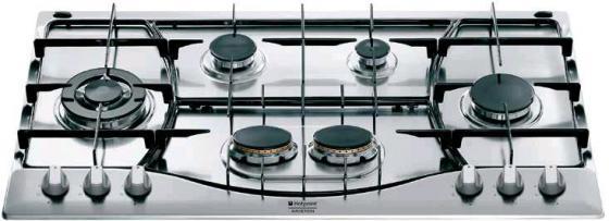 Варочная панель газовая Ariston PHN 962 TS/IX/HA серебристый варочная поверхность hotpoint ariston phn 962 ts ix ha steel