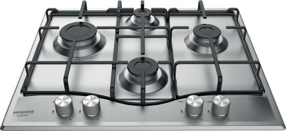 Варочная панель газовая Ariston PCN 642 IX/HA RU серебристый варочная панель hotpoint ariston pcn 642 ix