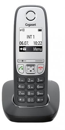 Радиотелефон DECT Gigaset А415 TRIO черный радиотелефон gigaset sl450 sys