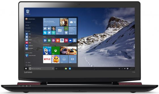 Ноутбук Lenovo IdeaPad Y700-17ISK 17.3 1920x1080 Intel Core i5-6300HQ 1Tb + 128 SSD 8Gb nVidia GeForce GTX 960M 4096 Мб черный Windows 10 80Q0001BRK ноутбук lenovo ideapad 320 17ikb 17 3 1600x900 intel core i3 7100u 500 gb 8gb nvidia geforce gt 920mx 2048 мб серебристый windows 10 home