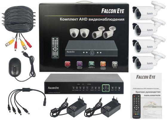 Комплект видеонаблюдения Falcon Eye FE-0104AHD-KIT Защита комплект видеонаблюдения falcon eye fe 0104ahd kit