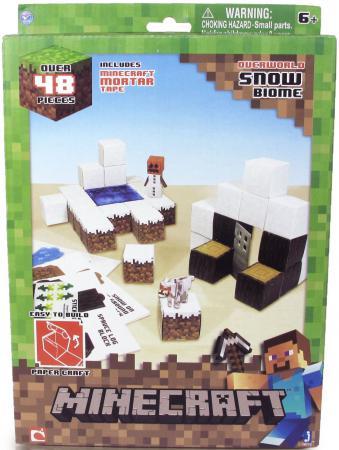 цена на Конструктор Minecraft Снежный биом 48 элементов 16712