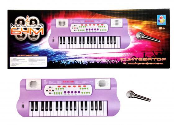 цена Синтезатор 1toy Музыкальный бум Т59140