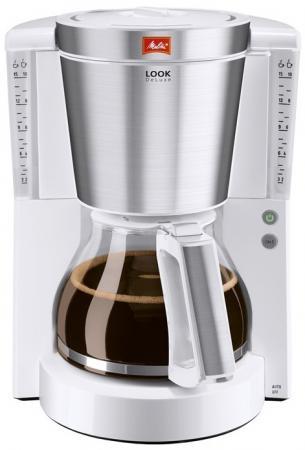 Кофеварка Melitta Look IV DeLuxe (20979) 1000 Вт белый