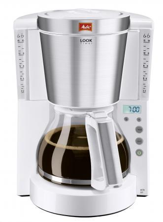 Кофеварка Melitta Look IV Timer 1000 Вт белый (20982)