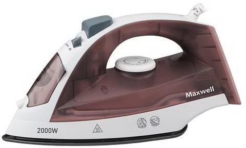 Утюг Maxwell 3049-MW 2000Вт коричневый утюг maxwell