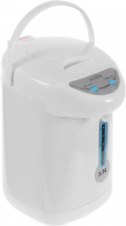 Термопот Smile TP 1074 800 Вт белый 3.5 л пластик термопот orion тп 05 5л 800 вт серебристый чёрный 5 л металл пластик