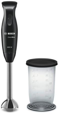 Блендер погружной Bosch MSM 2610 B 600Вт чёрный CleverMixx