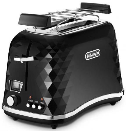 Тостер DeLonghi CTJ 2103 чёрный тостер delonghi ctj 2103 чёрный