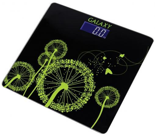 Весы напольные GALAXY GL4802 чёрный весы galaxy gl4806