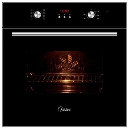 Электрический шкаф Midea 65DEE30004 черный стяжки пластиковые gembird nytfr 250x3 6 100шт