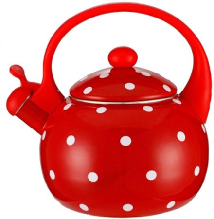 Чайник Zeidan -4115-01 красный 2. л металл