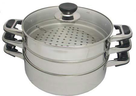 Мантоварка Катунь КТ-243М 24 см 4.5 л нержавеющая сталь чайник катунь кт 106e 2 5 л нержавеющая сталь индиго