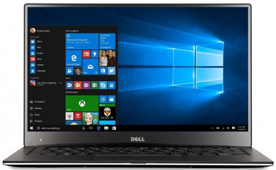 Ультрабук DELL XPS 13 13.3 1920x1080 Intel Core i5-7200U 256 Gb 8Gb Intel HD Graphics 620 серебристый Windows 10 Home 9360-9838 ноутбук dell xps 13 core i5 7200u 8gb ssd256gb intel hd graphics 620 13 3 ips fhd 1920x1080 windows 10 professional 64 silver wifi bt cam 4mah