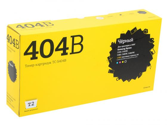 Фото - Картридж T2 TC-S404B CLT-K404S для Samsung Xpress SL-C430/C430W/C480/C480W/C480FW черный 1500стр картридж t2 tc s111l для samsung xpress m2020 xpress m2070f xpress