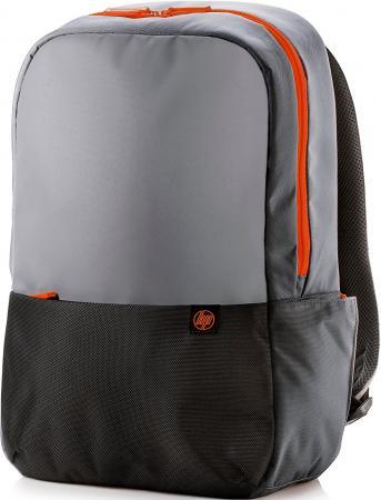 Фото - Сумка для ноутбука 15.6 HP Duotone Orange Backpack полиэстер серый черный Y4T23AA сумка для ноутбука 15 6 hp duotone blue briefcase y4t19aa abb