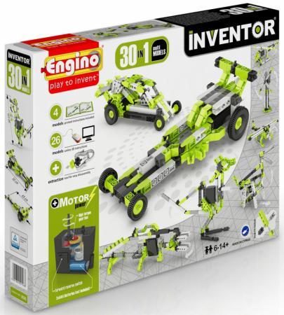 купить Конструктор ENGINO Inventor 120 элементов 3030 с мотором недорого