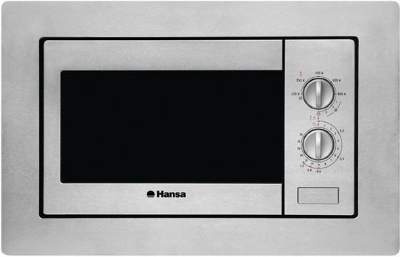 Встраиваемая микроволновая печь Hansa AMM20BMXH 800 Вт серебристый