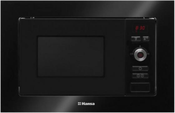 Встраиваемая микроволновая печь Hansa AMM20BESH 800 Вт чёрный микроволновая печь hansa amg 20 bfh
