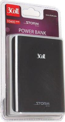 Фото - Портативное зарядное устройство 3Cott 3C-PB-104SS 10400mAh черный серый портативное зарядное устройство orico ld200 белый