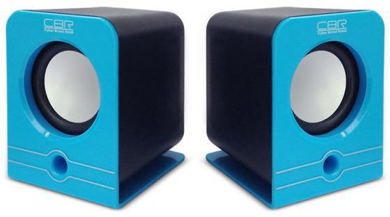 Колонки CBR CMS 303 2x3 Вт синий