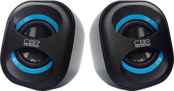 Колонки CBR CMS 333 2x3 Вт черно-синий колонки cbr cms 295 2x3 вт черный