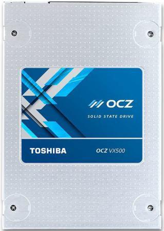 Твердотельный накопитель SSD 2.5 256Gb OCZ Toshiba  Read 550Mb/s Write 510Mb/s SATAIII VX500-25SAT3-256G