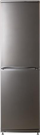 лучшая цена Холодильник Атлант 6025-080 серый металлик