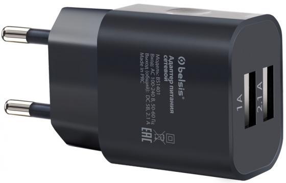 Фото - Сетевое зарядное устройство Bliss BS1401 2.1A черный зарядное