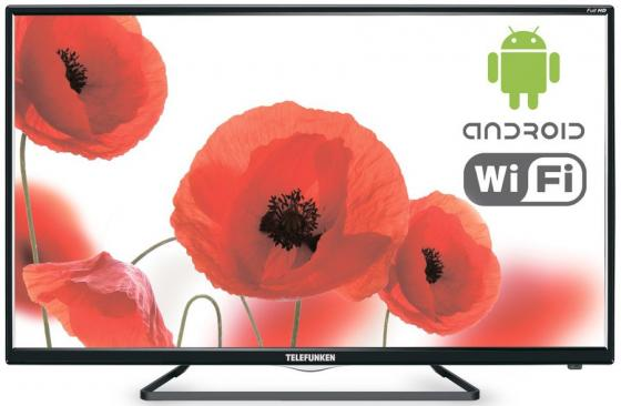 "Телевизор LED 42"" Telefunken TF-LED42S39T2S черный 1920x1080 50 Гц Wi-Fi Smart TV RJ-45"