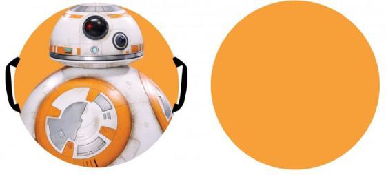Ледянка 1toy «Star Wars» Дрон ВВ-8 Т59038 пластик разноцветный рисунок ледянка треугольник пластик