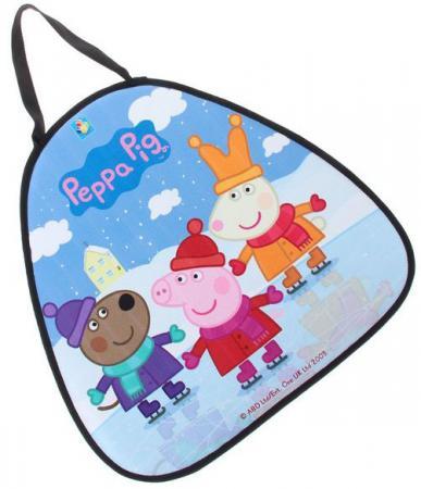 Ледянка 1toy свинка Пеппа Т59156 разноцветный рисунок ледянка 1 toy cut the rope