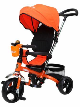 Велосипед трехколёсный Navigator Lexus 10/8 оранжевый Т58450 велосипед 3 х колесный navigator lexus d10 8 т57663
