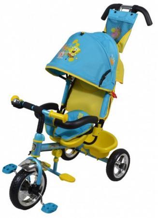 Велосипед трехколёсный Navigator Lexus Губка Боб 10/8 голубой Т57593 велосипед 3 х колесный navigator lexus губка боб 10 8 т57593